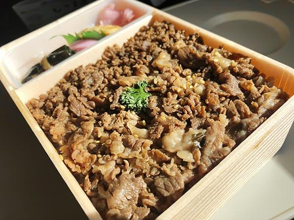 東京 東京駅 駅弁屋 祭 グランスタ店|牛肉どまん中弁当・ごはん