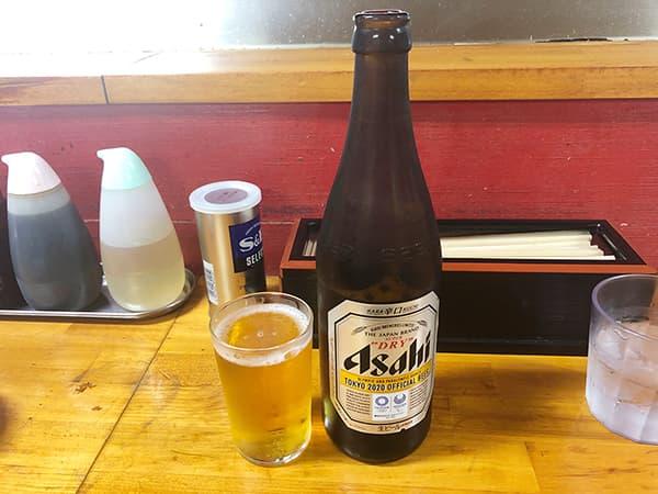 栃木 宇都宮 香蘭|瓶ビール