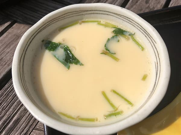 神奈川 三浦 松輪 茶碗蒸し