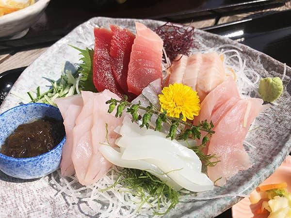 神奈川 三浦 松輪|刺身定食3種盛り