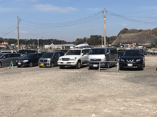 神奈川 三浦 松輪|駐車場