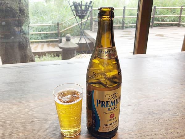 東京 上野 韻松亭|ビール