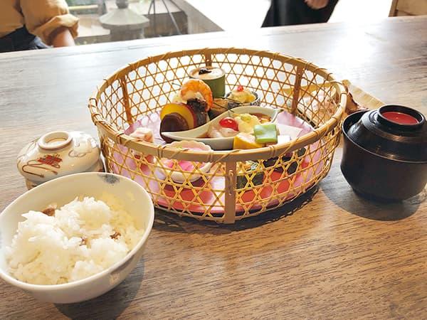 東京 上野 韻松亭|花籠膳(月)