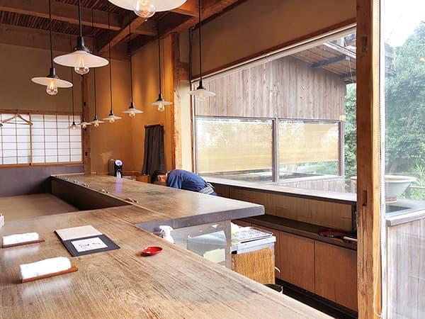 東京 上野 韻松亭|カウンター