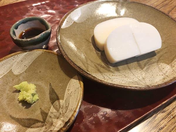 東京 浅草 並木藪蕎麦|板わさ