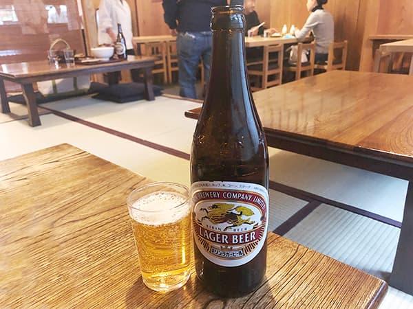 東京 浅草 並木藪蕎麦|ビール