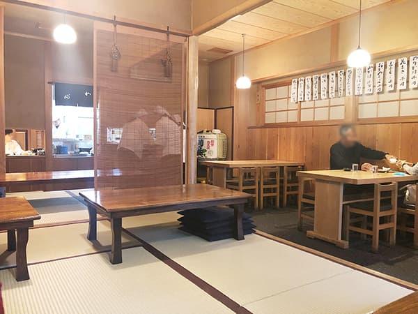 東京 浅草 並木藪蕎麦|店内