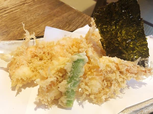 東京 浅草 並木藪蕎麦|天ぷら