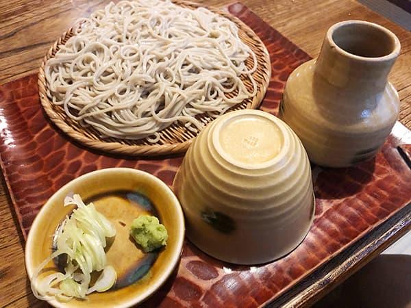 東京 浅草 並木藪蕎麦|もりそば