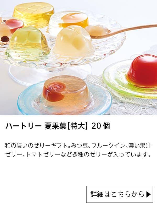 成城石井|ハートリー 夏果菓【特大】 20個
