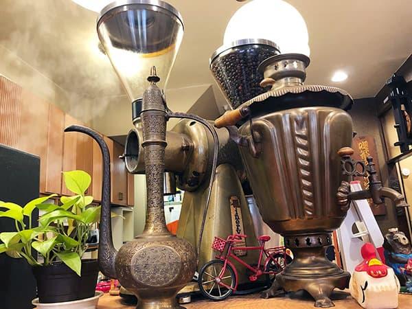 東京 人形町 喫茶去 快生軒|コーヒーミル