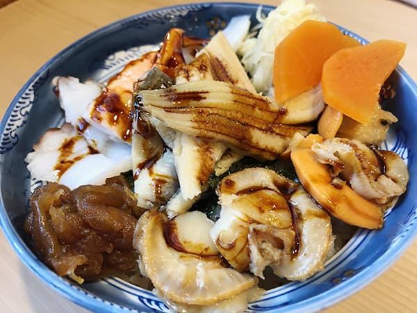 東京 水天宮 都寿司|にもの丼