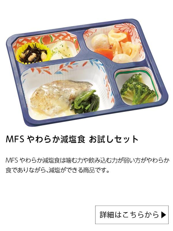 メディカルフードサービス|MFSやわらか減塩食 お試しセット