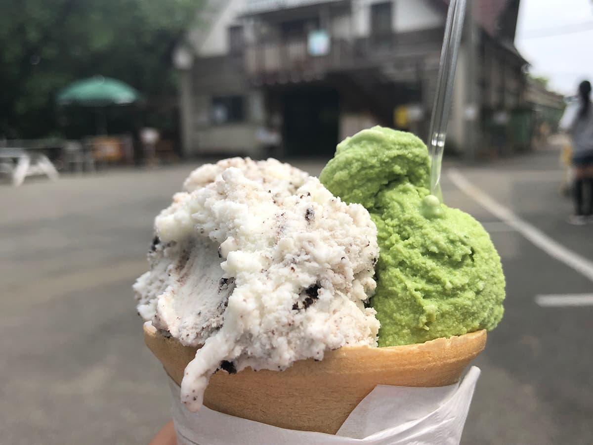埼玉 上尾 榎本牧場 フォルトゥーナ|ジェラート