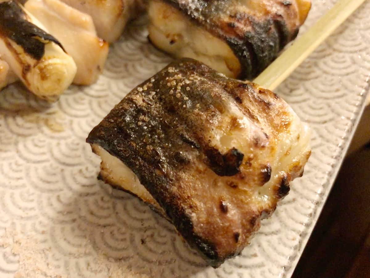 東京 亀戸 う成ル|鰻の穂焼き