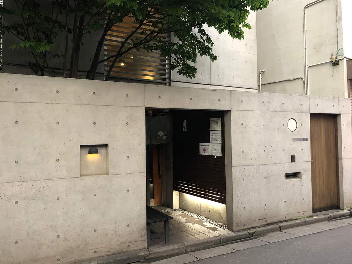 東京 大島 手打ち蕎麦 銀杏|外観