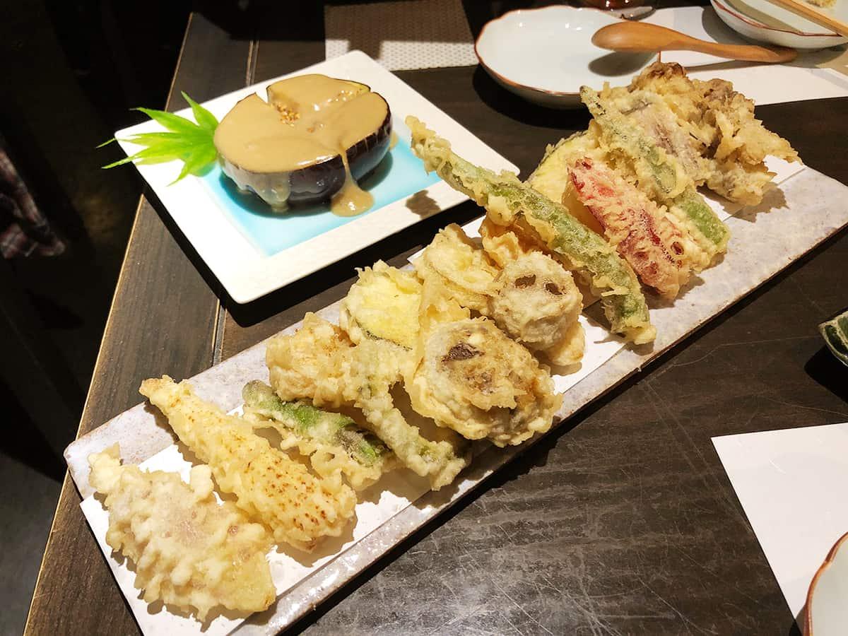 東京 大島 手打ち蕎麦 銀杏|旬野菜の天ぷら