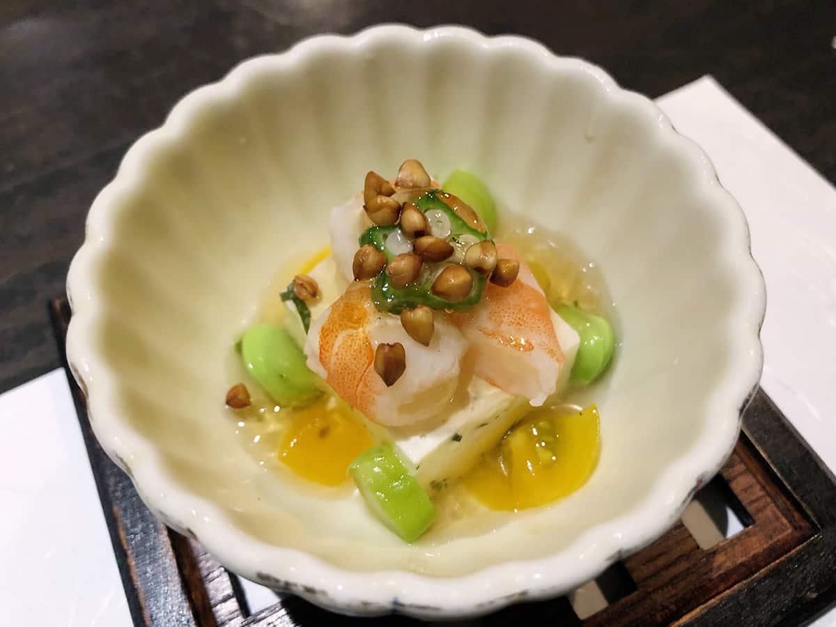 東京 大島 手打ち蕎麦 銀杏|前菜
