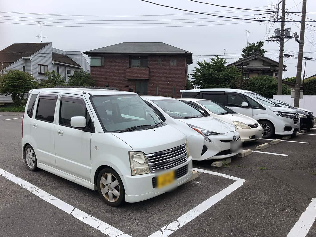 茨城 八千代 らーめん すずらん|駐車場