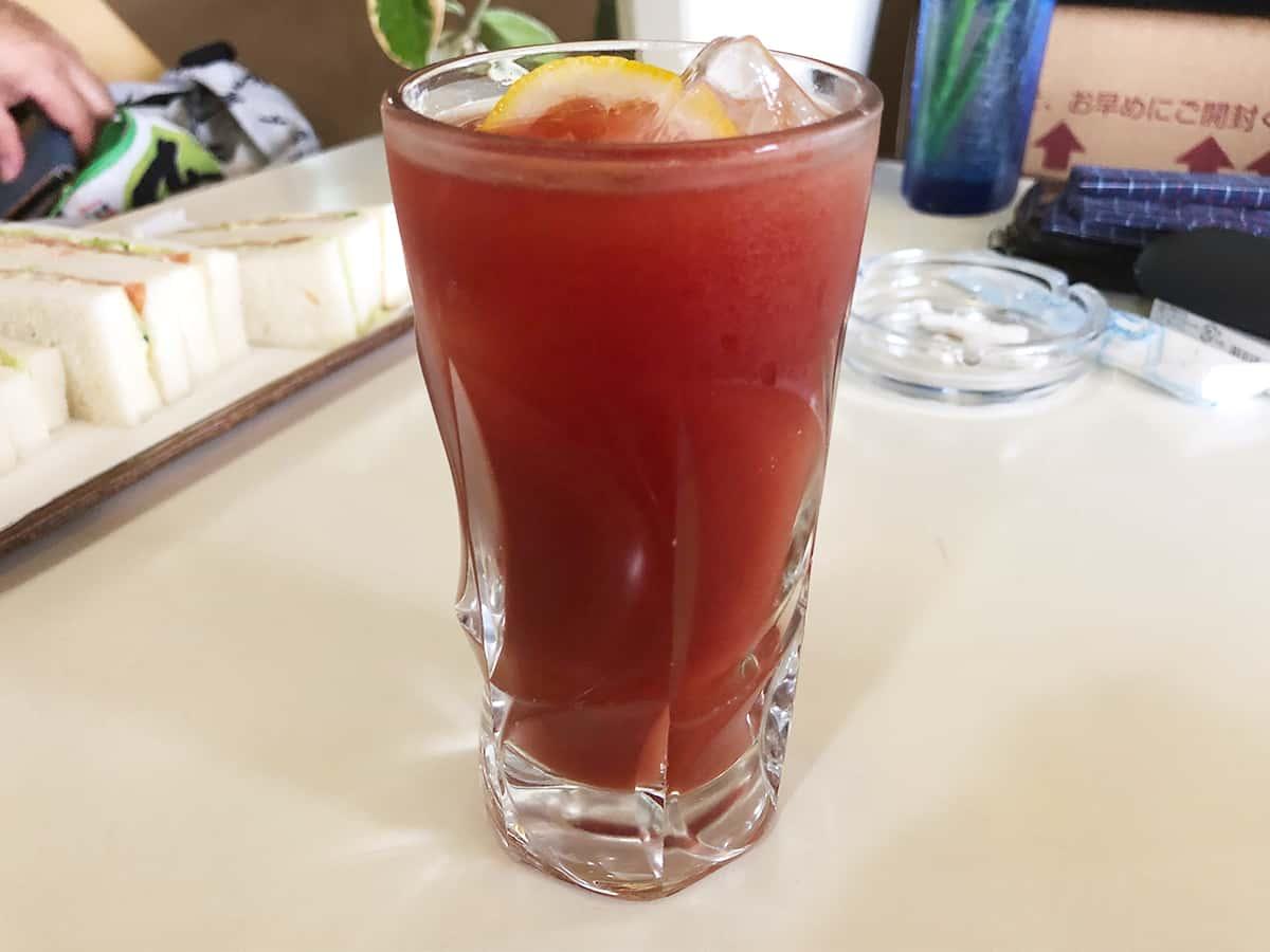 群馬 高崎 喫茶コンパル|トマトジュース