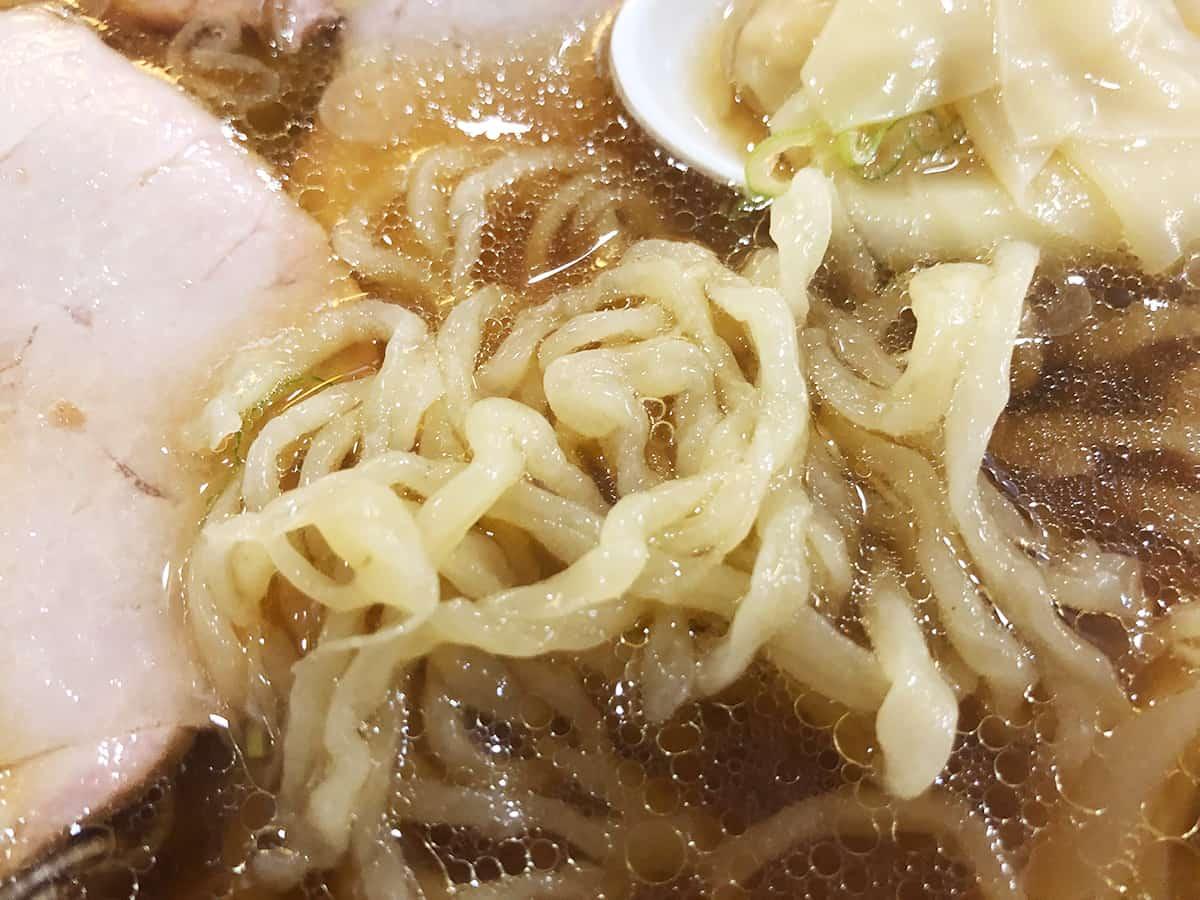 埼玉 上尾 白河手打中華 賀乃屋|麺