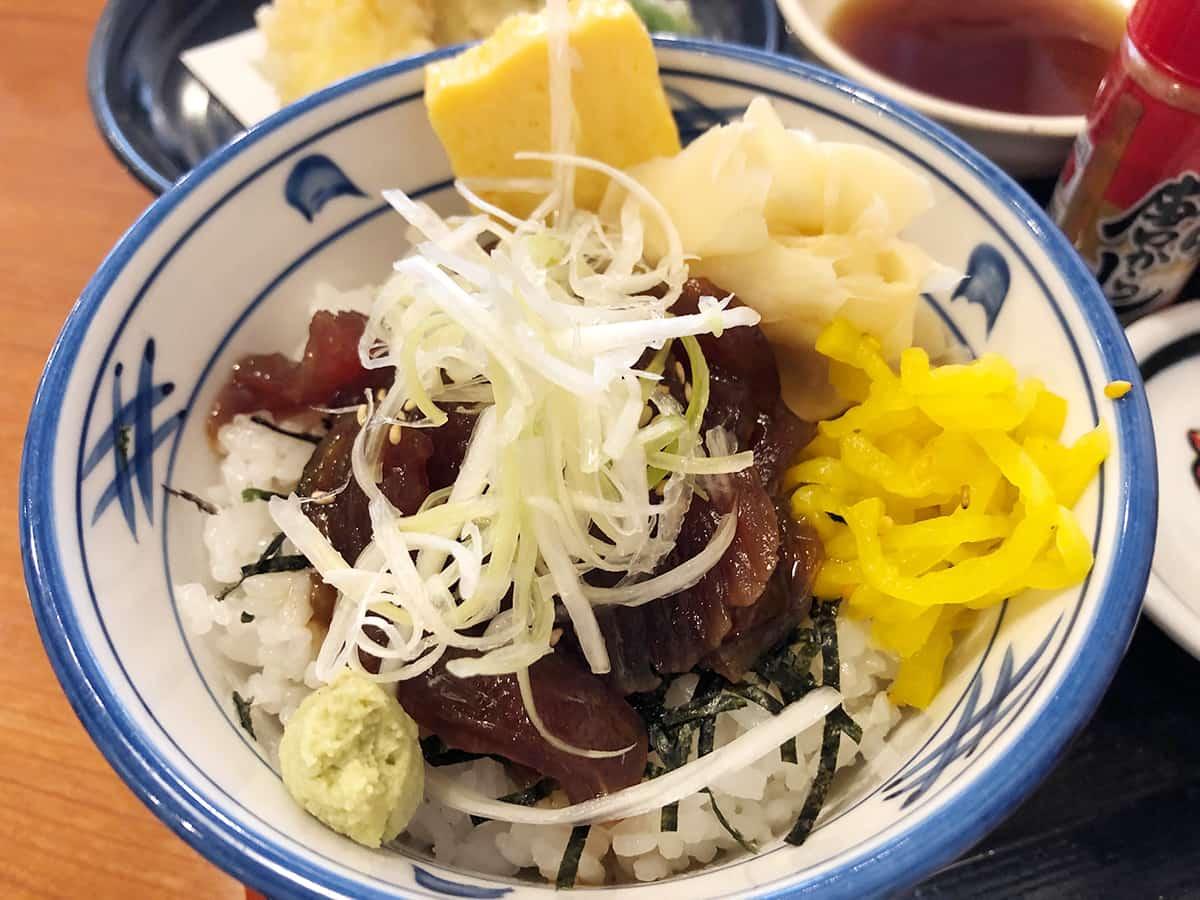 埼玉 狭山 がってん食堂大島屋 狭山店|マグロ漬け丼