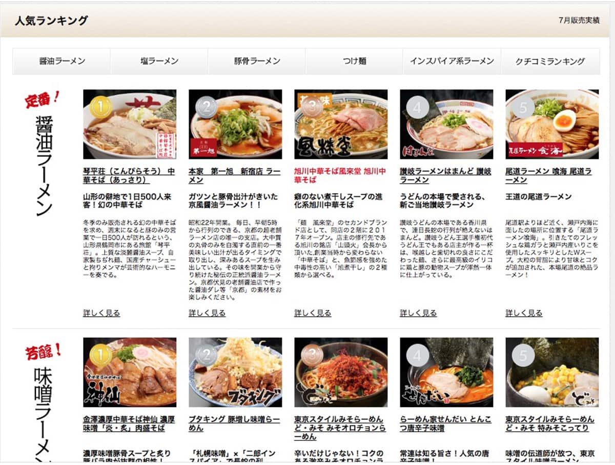 ランキング|宅麺.com