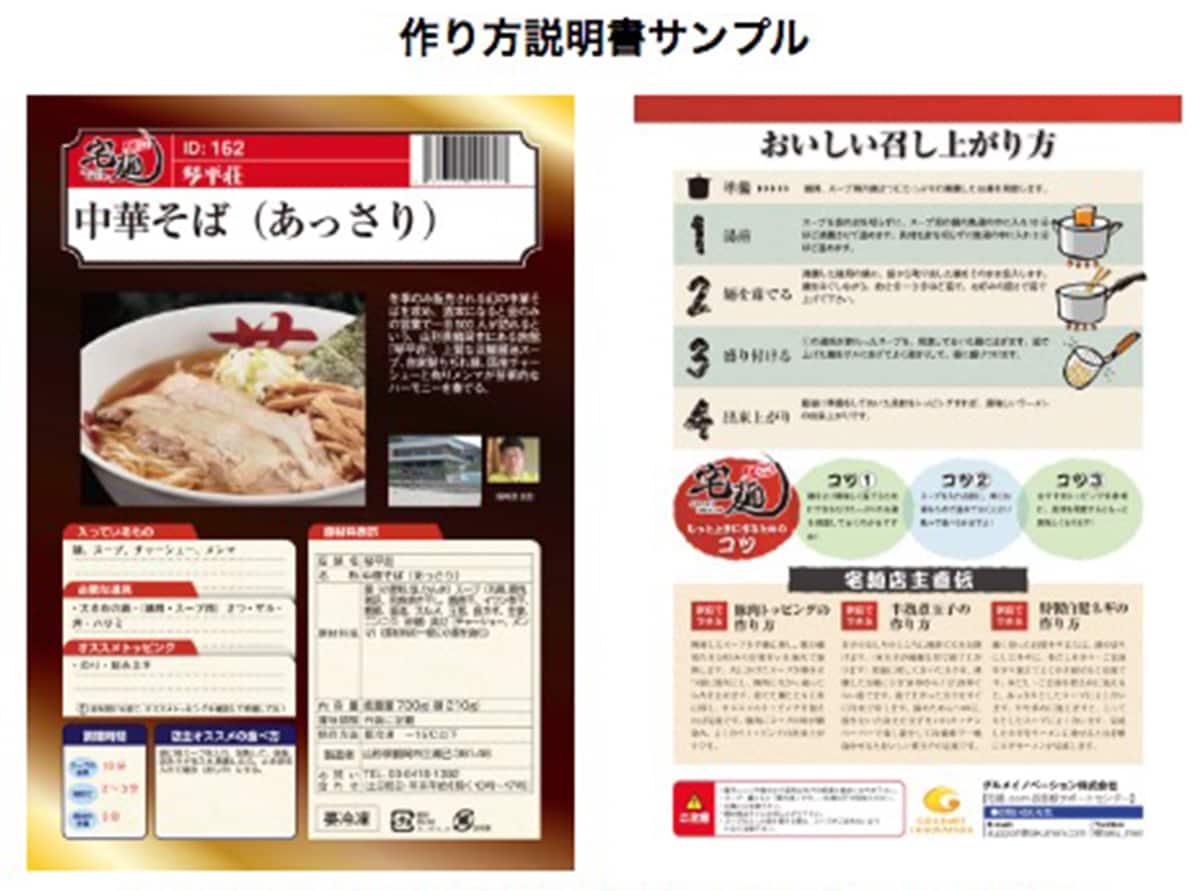 初めてでも、安心!一食一枚の作り方説明書|宅麺.com