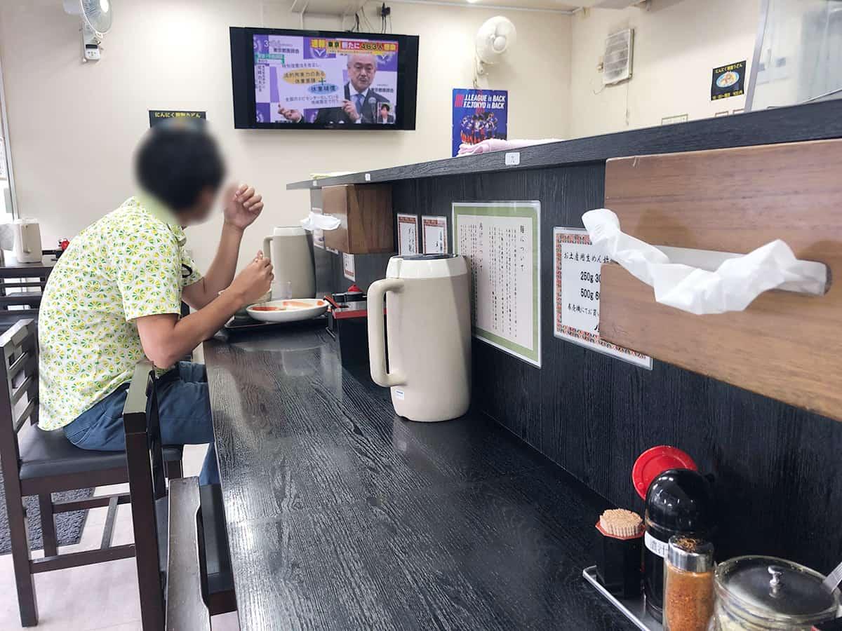 東京 小平 小平うどん 小平本店|店内