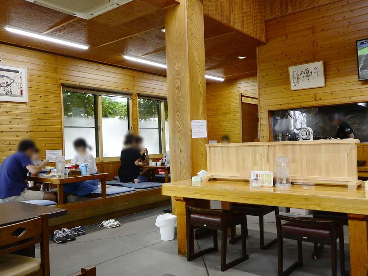 福島 白河 とら食堂|店内