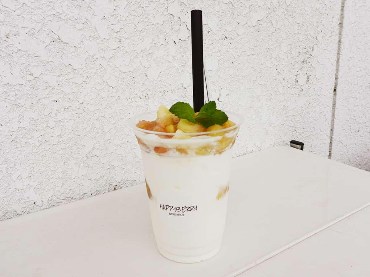 福島 白河 ハッピーベリー (HappyBerry)|桃のミルキーシェイク