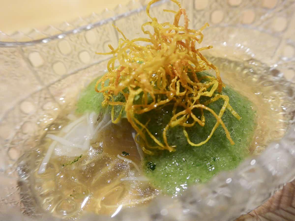福島 郡山 粋・丸新|玉葱と貝柱