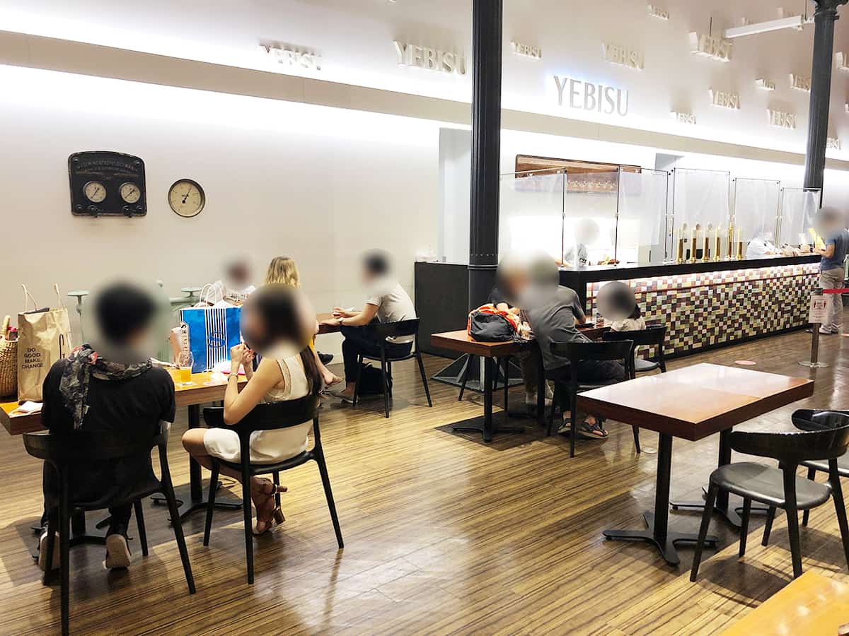 東京 恵比寿 ヱビスビール記念館|テイスティングサロン
