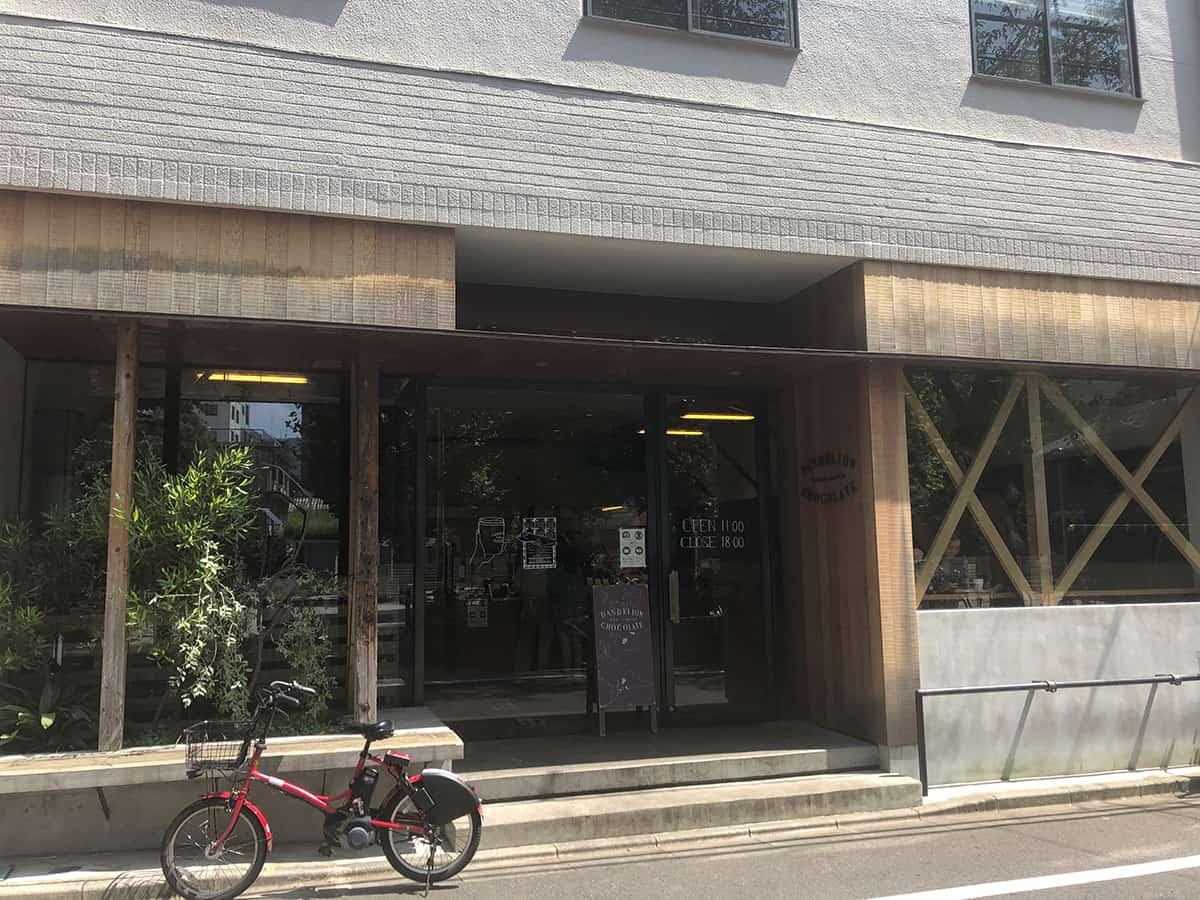 東京 蔵前 ダンデライオン・チョコレート ファクトリー&カフェ蔵前 (DANDELION CHOCOLATE)|外観