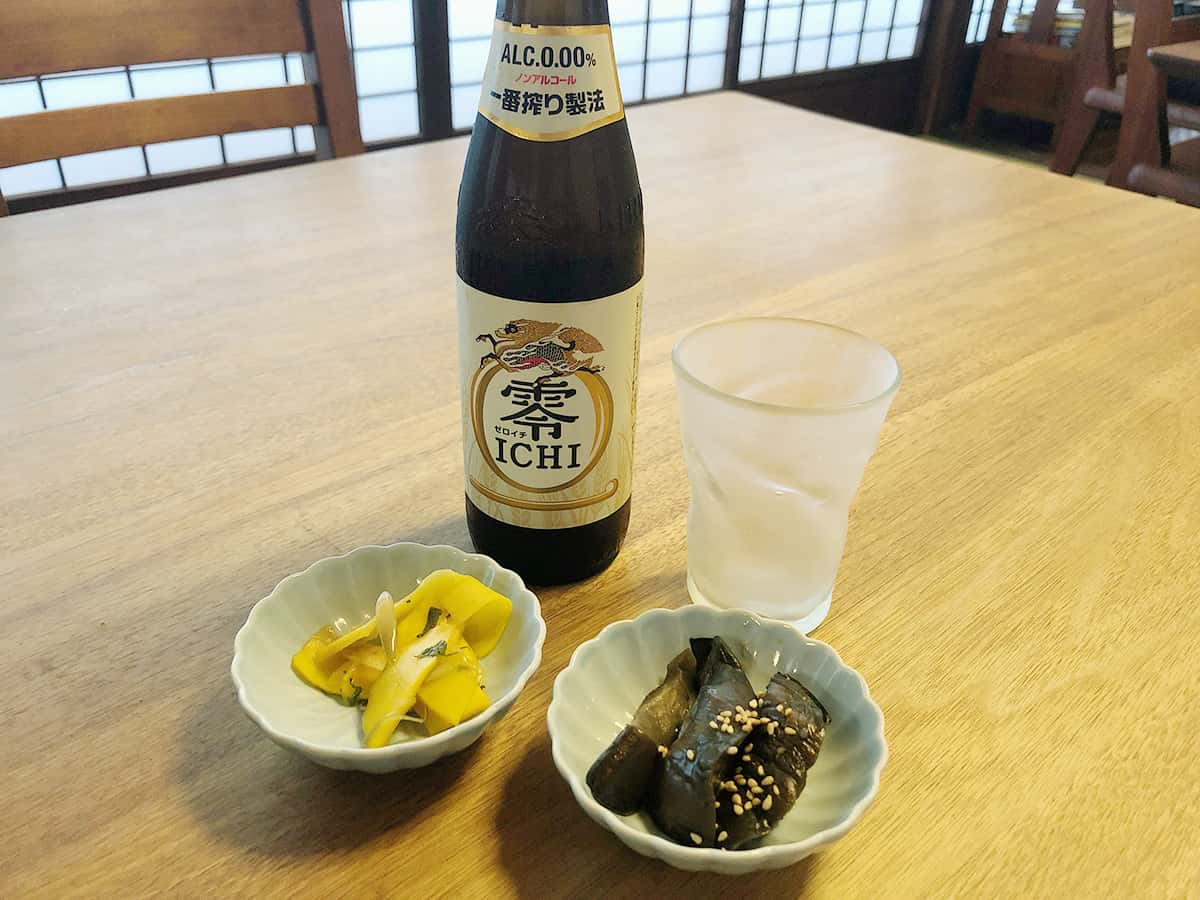 山形 天童 そば 吉里吉里 (きりきり)|ノンアルコールビール