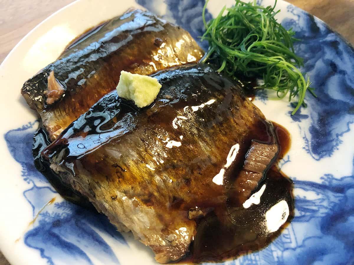 山形 天童 そば 吉里吉里 (きりきり)|にしん柔らか煮
