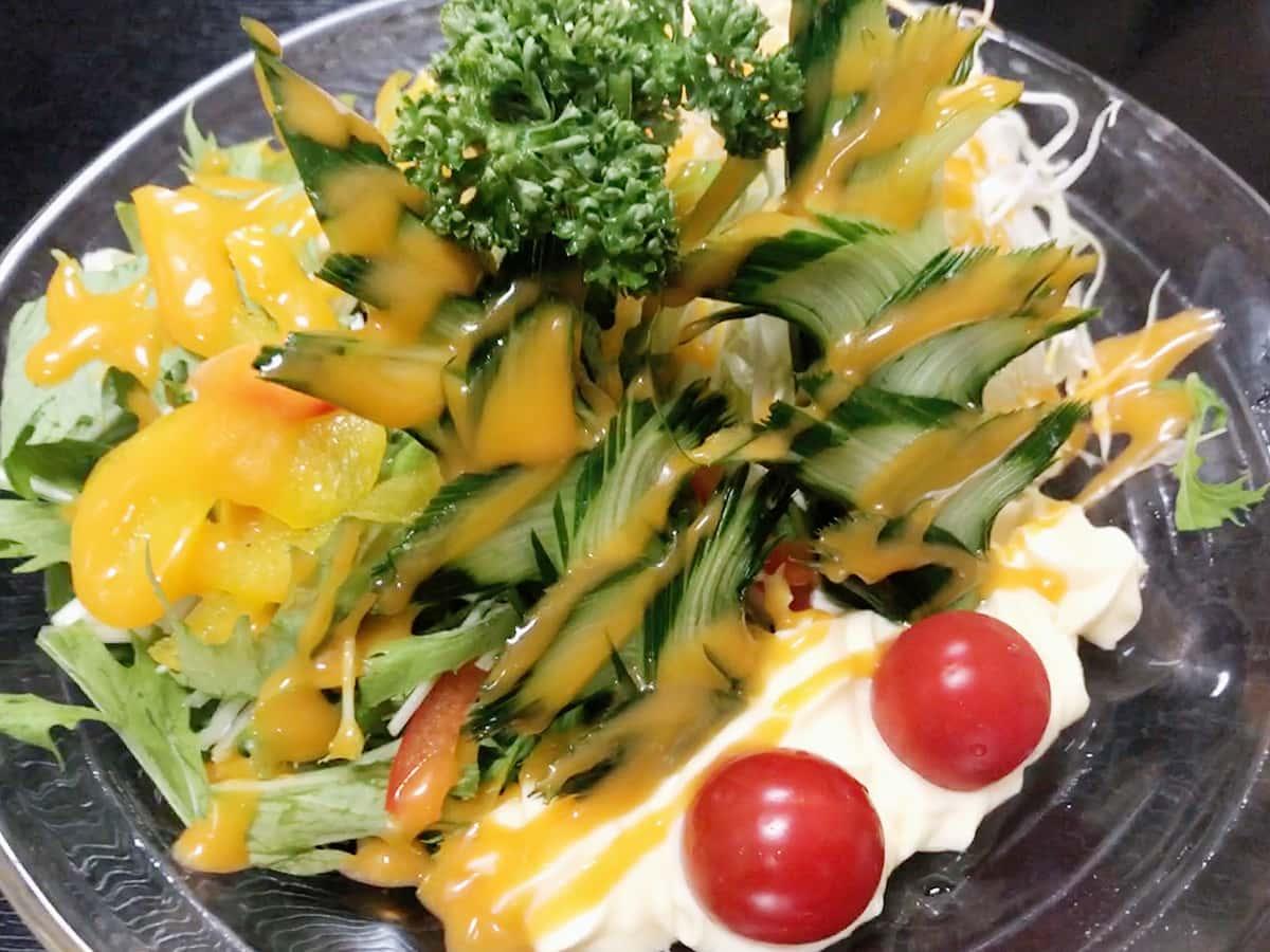 山形 鶴岡 堂道(どうみち)|野菜サラダ