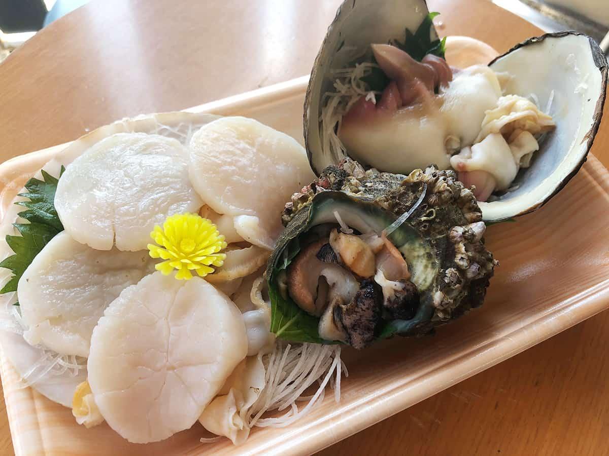 山形 酒田 菅原鮮魚|貝盛り合わせ