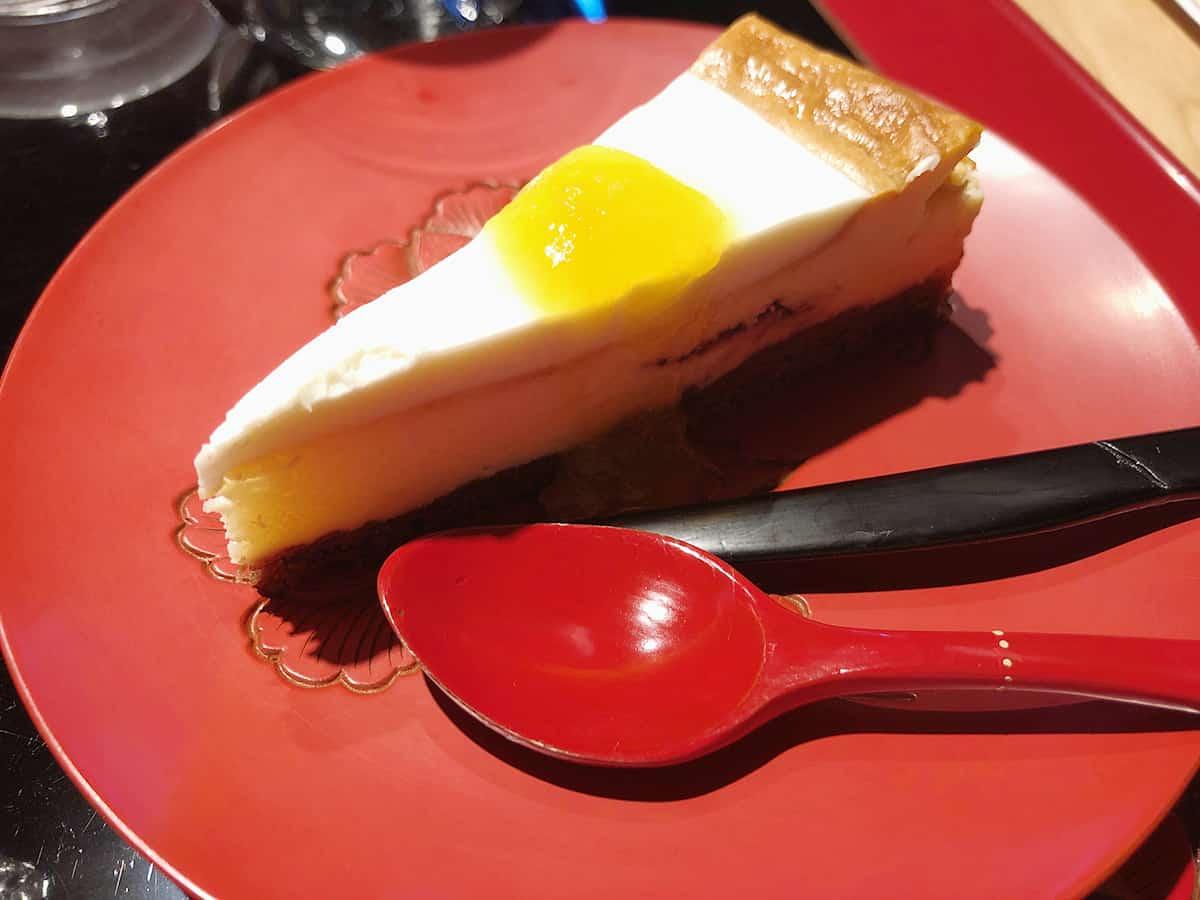 新潟 村上 富士見園|レアチーズケーキ