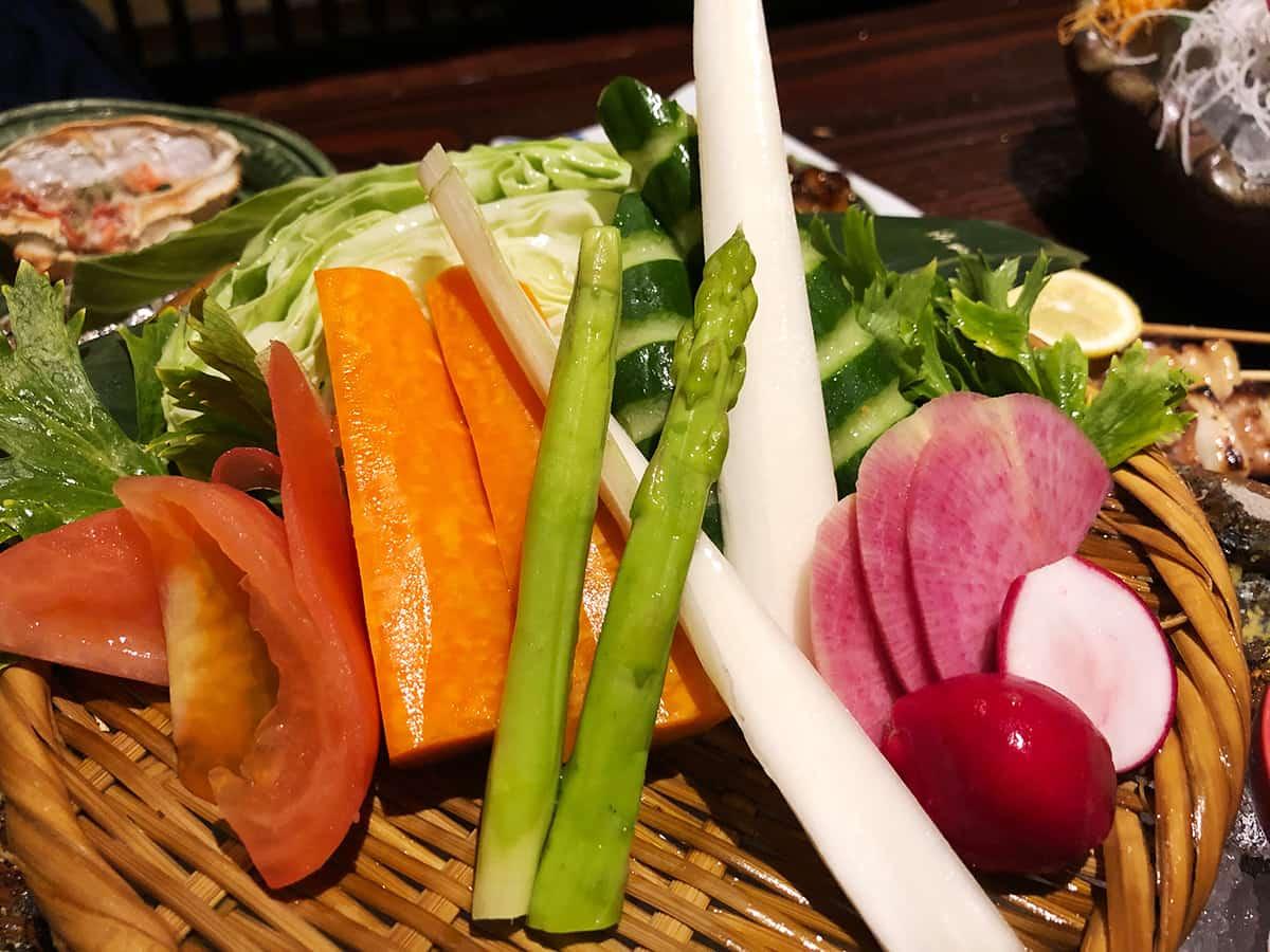 新潟 新潟中央 いかの墨|朝もぎ野菜かぶりつき