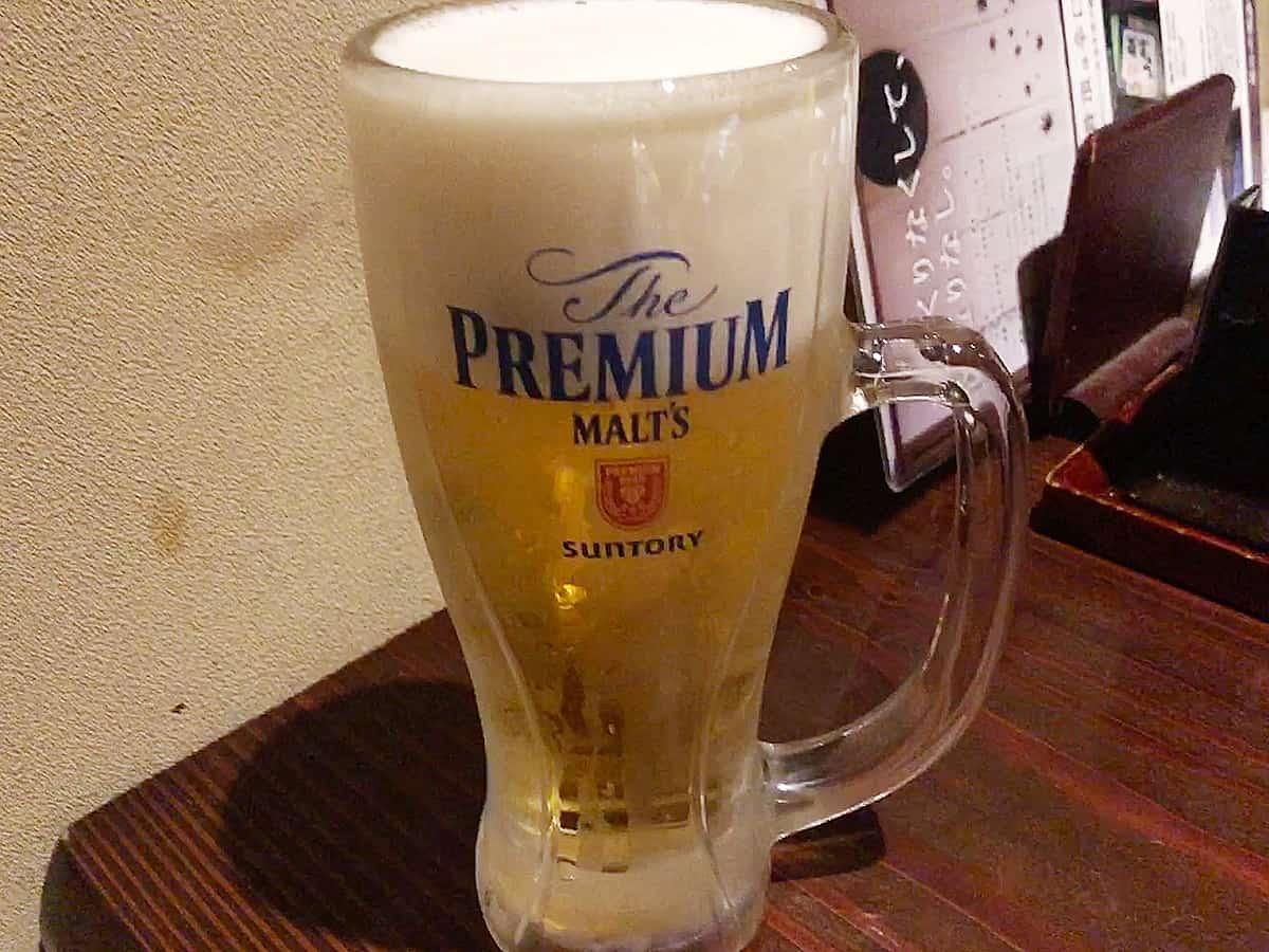 新潟 新潟中央 いかの墨|生ビール