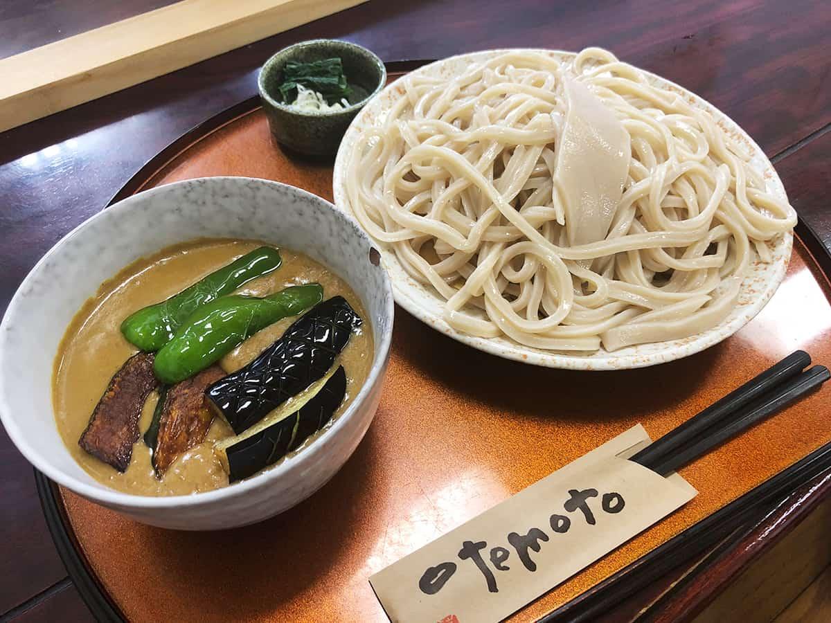 埼玉 狭山 三丁目の手打うどん|野菜カレーつけ麺