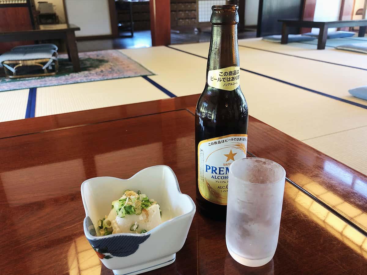 新潟 魚沼 そば屋 長森|ノンアルコールビール