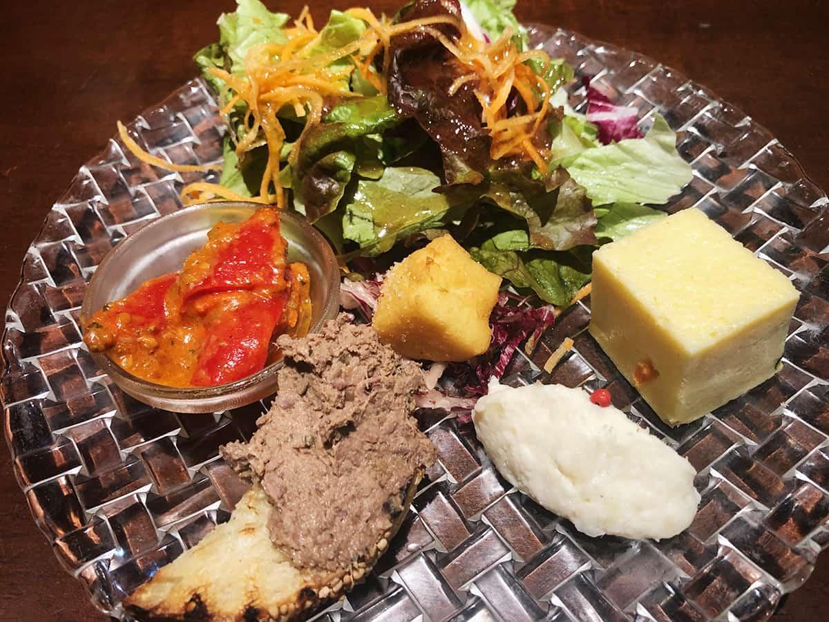 神奈川 厚木 フィーコディンディア|前菜5種類