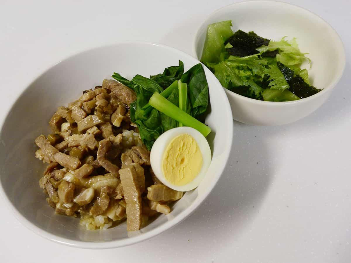 ルーロー飯とチョレギ風サラダ|kit oisix