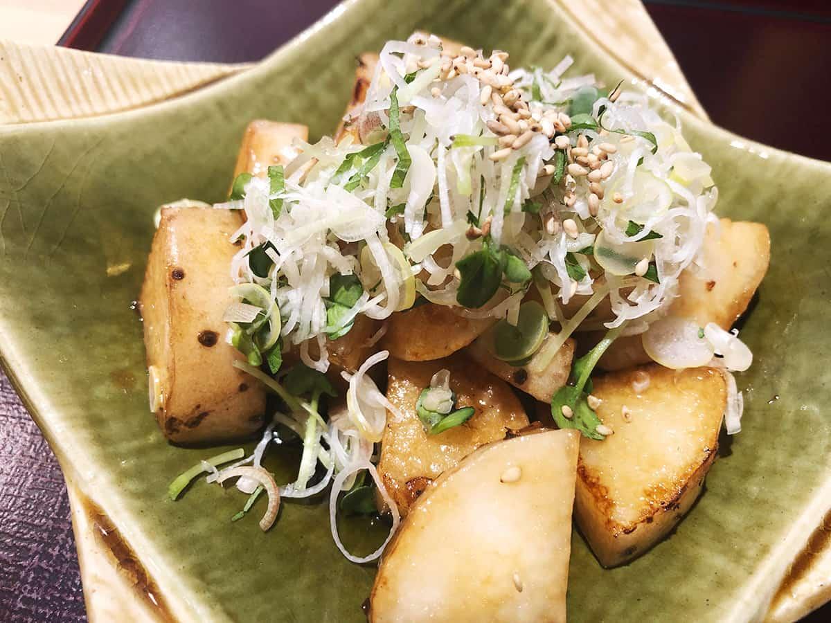 東京 大井町 そ 満蔵|長芋の揚げ焼き