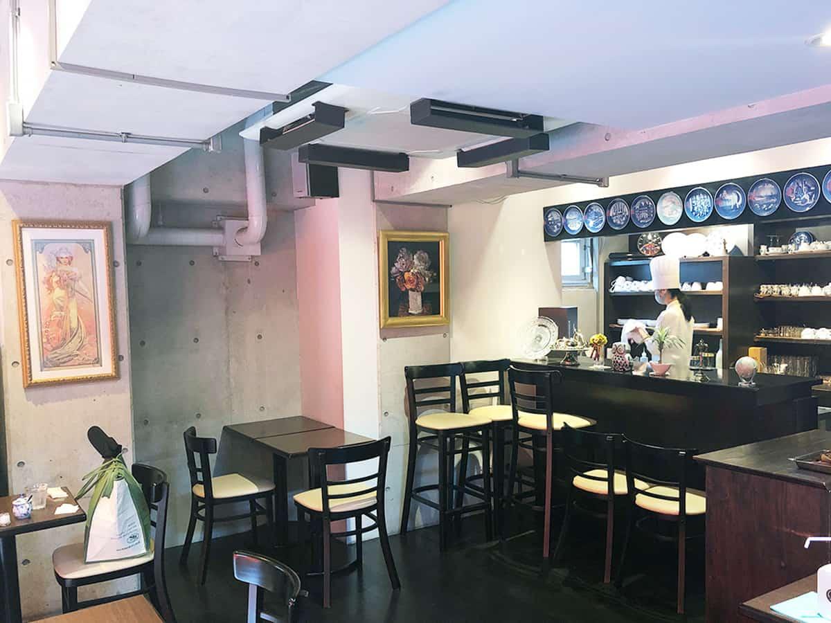 東京 大森 ル ガリュウM (LE GARUE M)|喫茶室