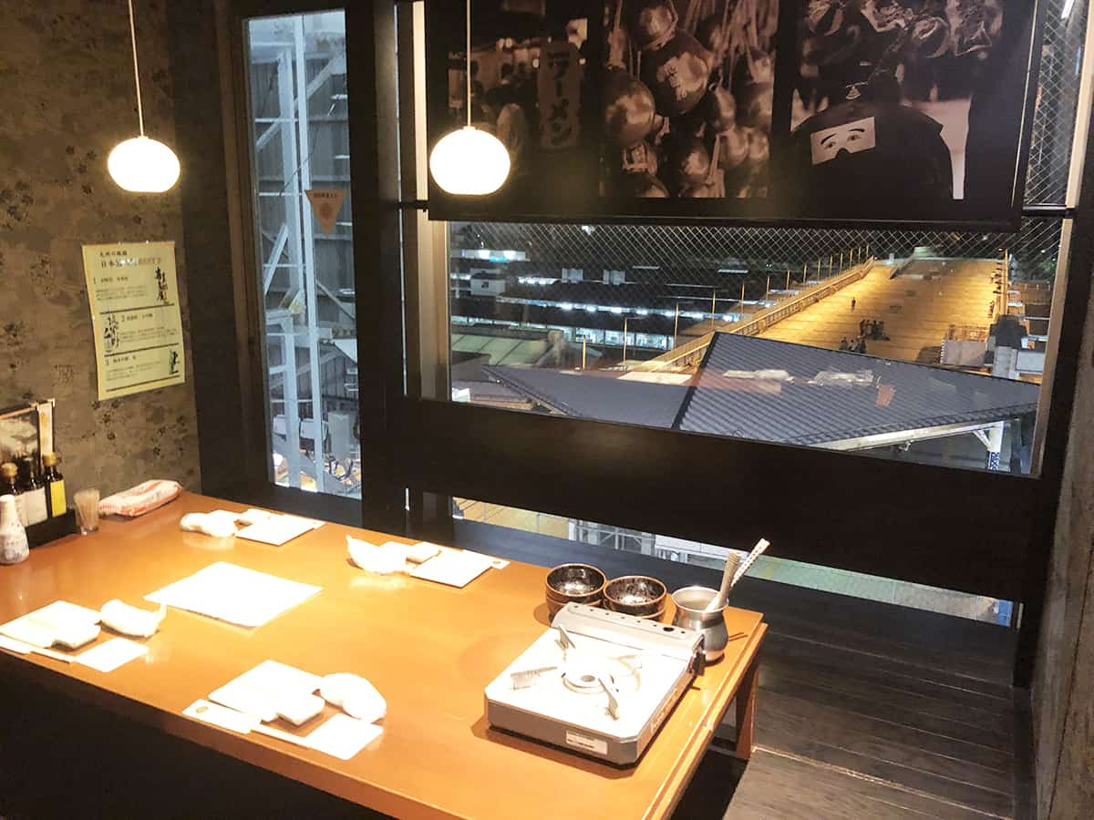 東京 上野 博多前炉ばた 一承 東京上野 店内
