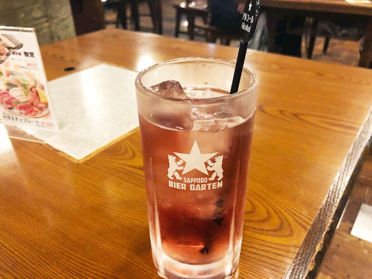 北海道 札幌 サッポロビール園|男梅サワー
