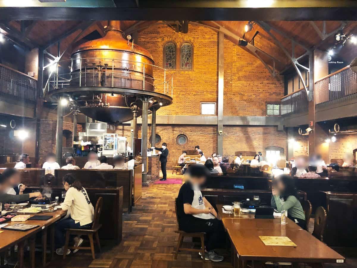 北海道 札幌 サッポロビール園|ケッセルホール